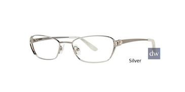 Silver Dana Buchman Isha Eyeglasses