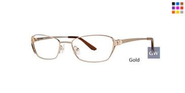 Gold Dana Buchman Isha Eyeglasses