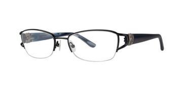 Black Dana Buchman Jannah Eyeglasses.