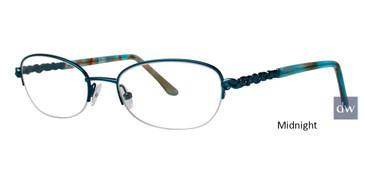 Midnight Dana Buchman Karlotte Eyeglasses