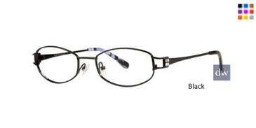 Black Dana Buchman Estelle Eyeglasses