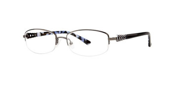 Black Dana Buchman Dove Eyeglasses.