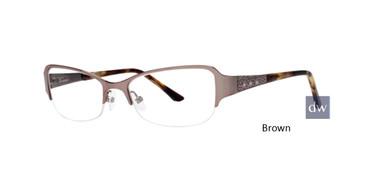 Brown Dana Buchman Kathleen Eyeglasses