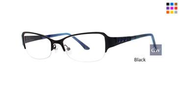 Black Dana Buchman Kathleen Eyeglasses