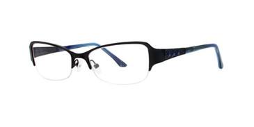 Black Dana Buchman Kathleen Eyeglasses.