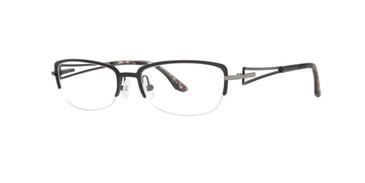 Black Dana Buchman Kellen Eyeglasses.