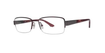 Burgundy Dana Buchman Annice Eyeglasses.