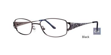 Black Dana Buchman Adelphia Eyeglasses