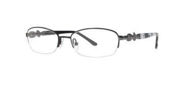 Black Dana Buchman Kadin Eyeglasses.