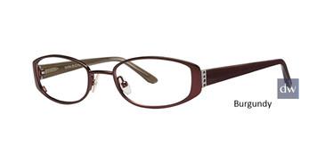 Burgundy Dana Buchman Jonie Eyeglasses - Teenager