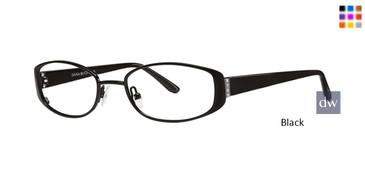 Black Dana Buchman Jonie Eyeglasses - Teenager