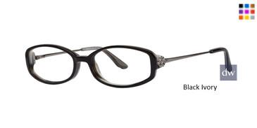 Black Ivory Dana Buchman Hazel Eyeglasses