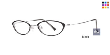 Black Dana Buchman Ava Eyeglasses