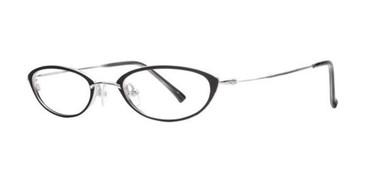 Black Dana Buchman Ava Eyeglasses.