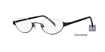 Gunmetal Dana Buchman Eloise Eyeglasses