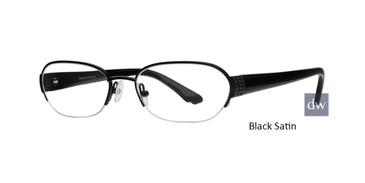 Black Satin Dana Buchman Eliza Eyeglasses