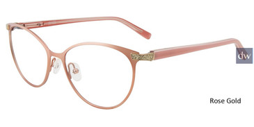 Rose Gold Jones New York  J492 Eyeglasses.