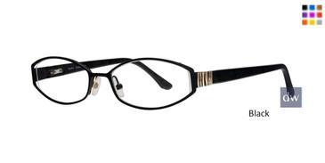 Black Dana Buchman Daphne Eyeglasses