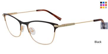 Black Jones New York Petite J151 Eyeglasses - Teenager.