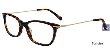 Tortoise Jones New York Petite J241 Eyeglasses - Teenager.