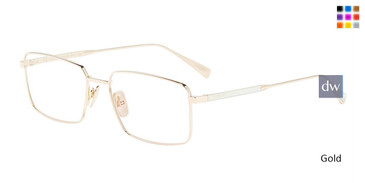 Gold Chopard VCHD61M Eyeglasses.