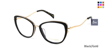 Black/Gold William Morris Black Label BLANNABELLE Eyeglasses