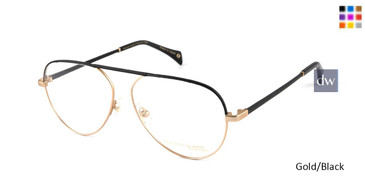 Gold/Black William Morris Black Label BLDITA Eyeglasses