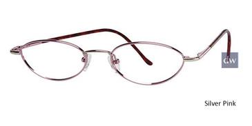 Silver Pink Parade 1507 Eyeglasses - Teenager