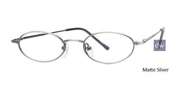 Matte Silver Parade 1505 Eyeglasses