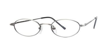 Matte Silver Parade 1505 Eyeglasses.