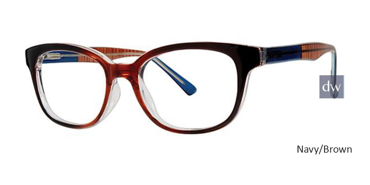 Navy/Brown Parade Q Series 1794 Eyeglasses.