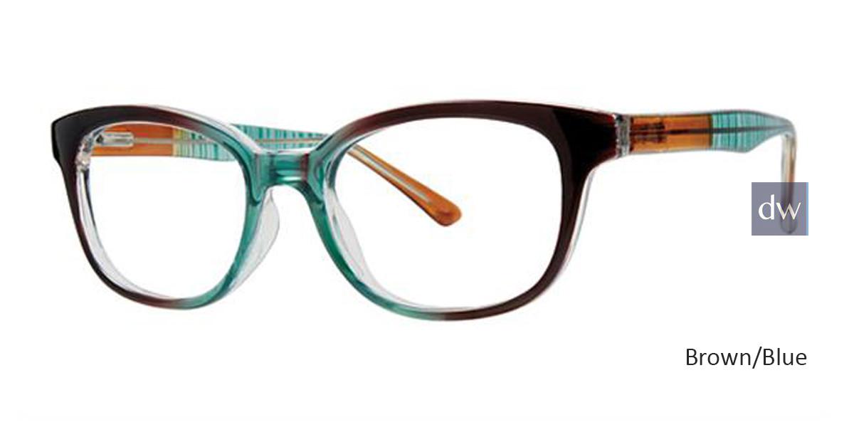 Brown/Blue Parade Q Series 1794 Eyeglasses