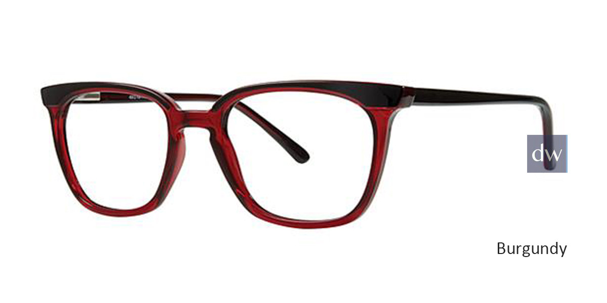 Burgundy Parade Q 1793 Eyeglasses - Teenager