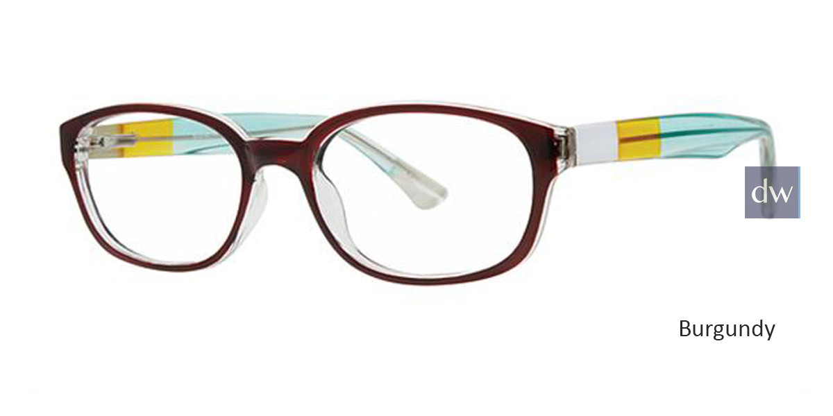 Burgundy Parade Q Series 1792 Eyeglasses