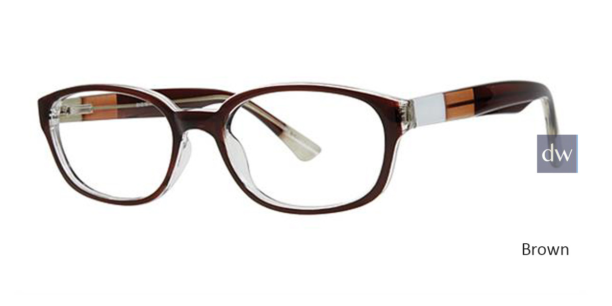 Brown Parade Q Series 1792 Eyeglasses.