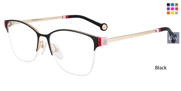 Black Carolina Herrera VHE137 Eyeglasses.
