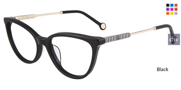 Black Carolina Herrera VHE817 Eyeglasses.