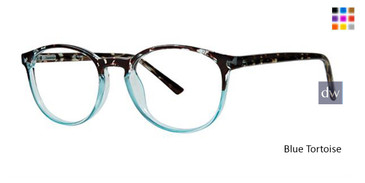 Blue Tortoise Parade Q 1789 Eyeglasses - Teenager