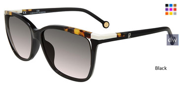 Black Carolina Herrera SHE821 Sunglasses.