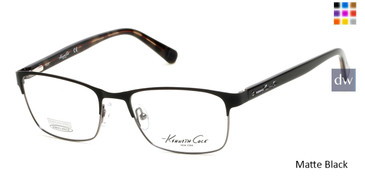 Matte Black Kenneth Cole New York KC0248 Eyeglasses.