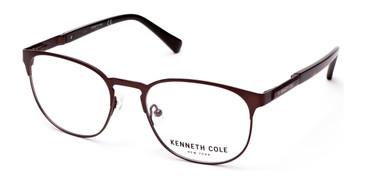 Matte Dark Brown Kenneth Cole New York KC0267 Eyeglasses.