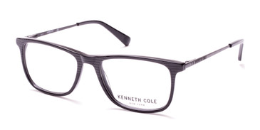 Shiny Black Kenneth Cole New York KC0277 Eyeglasses.