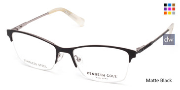 Matte Black Kenneth Cole New York KC0283 Eyeglasses.