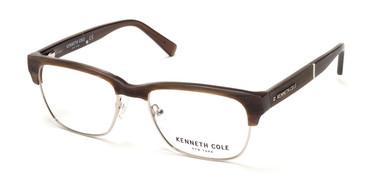 Beige Horn Kenneth Cole New York KC0284 Eyeglasses.