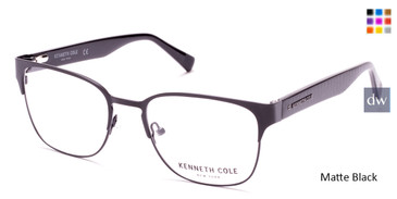 Matte Black Kenneth Cole New York KC0286 Eyeglasses.