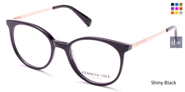 Shiny Black Kenneth Cole New York KC0288 Eyeglasses.