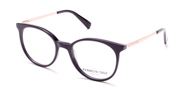 Shiny Black Kenneth Cole New York KC0288 Eyeglasses.