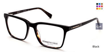 Black Kenneth Cole New York KC0290 Eyeglasses.
