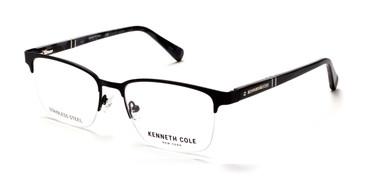 Matte Black Kenneth Cole New York KC0291 Eyeglasses.