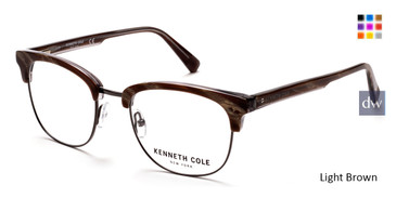 Light Brown Kenneth Cole New York KC0292 Eyeglasses.